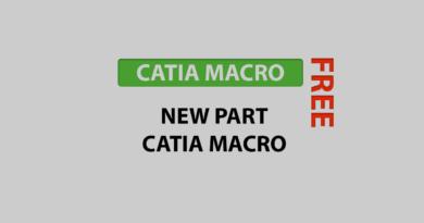 new part catia macro