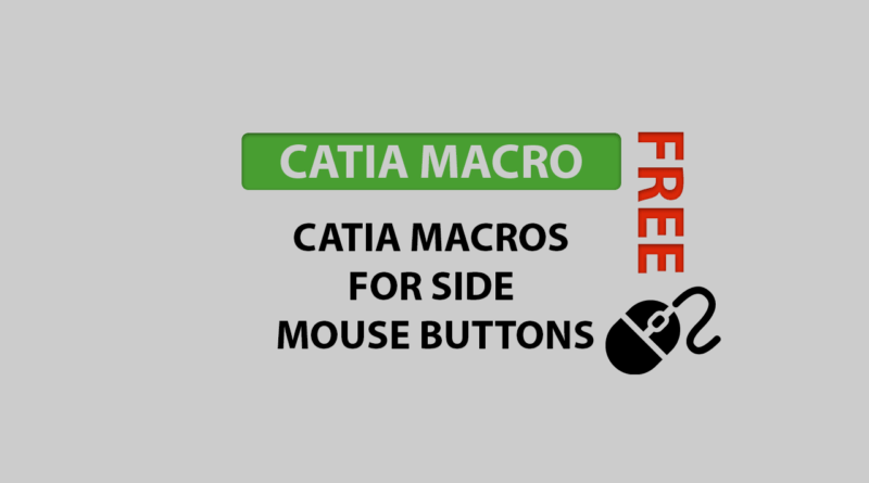catia macros for side muse buttons