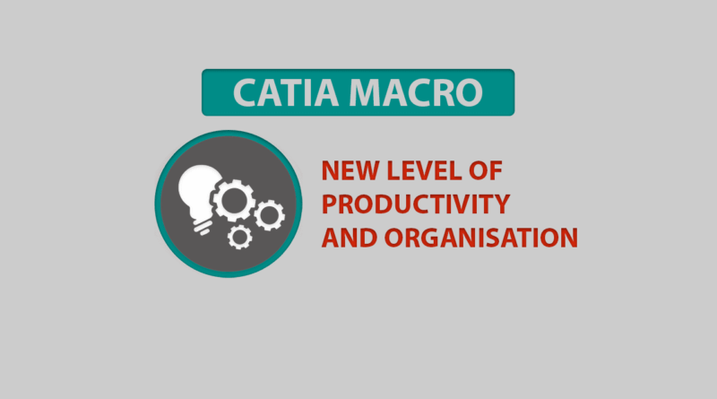 catia macro productivity