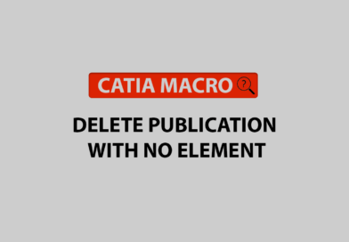 delete publication with no element