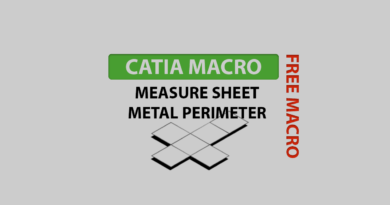 Measure sheet metal perimeter + Free Macro