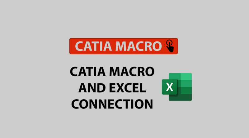CATIA macro and Excel